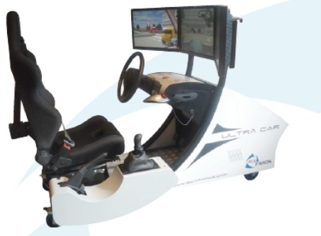 Symulator bezpiecznej jazdy